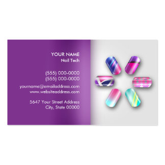 Nail Technician Appointment  Business  Card Business Card Templates