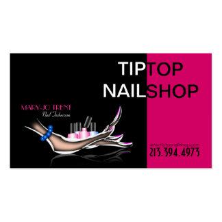 Nail Technician/Artist/Manicurist Business Card