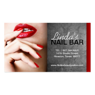 NAIL TECHNICIAN BUSINESS CARD