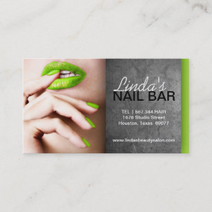 Nail technician appointment business cards business card printing nail technician business card reheart Images