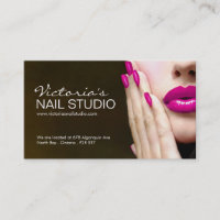 Nail business cards business card printing zazzle uk nail technician business card template colourmoves