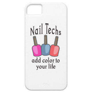 NAIL TECHS ADD COLOR iPhone 5 CASES