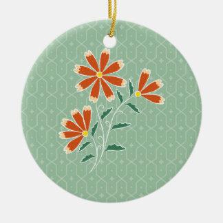 Naila Floral Batik Round Ornament