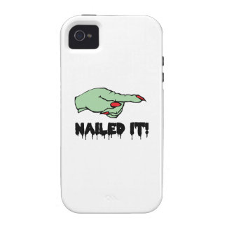 Nailed It Vibe iPhone 4 Cases