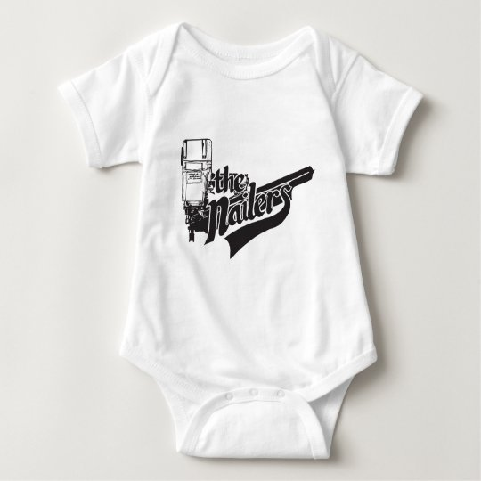 Nailers Logo Baby Bodysuit