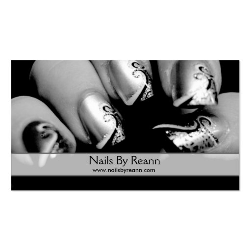 Nails By Reann Double-Sided Standard Business Cards (Pack Of 100)