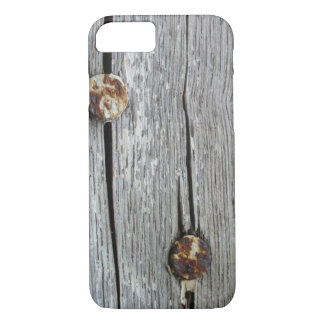 nails on old wood arts iPhone 7 hard case