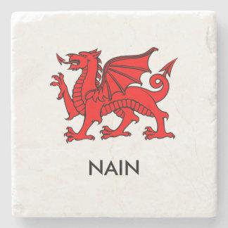 Nain - South Welsh Grandma Coaster