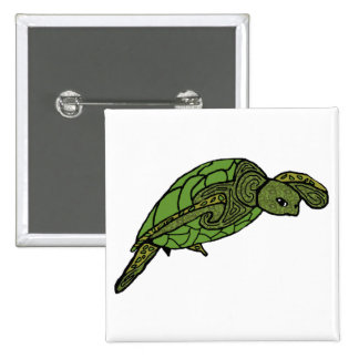 Nainoa sea turtle button
