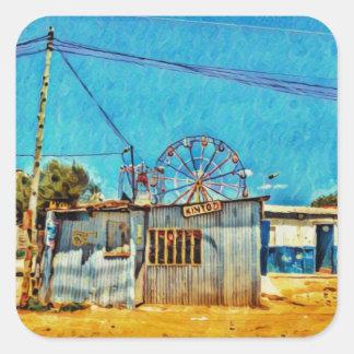 Nairobi Fair Square Sticker
