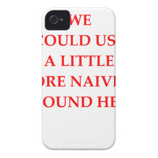 naive iPhone 4 cover