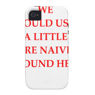 naive iPhone 4/4S cases