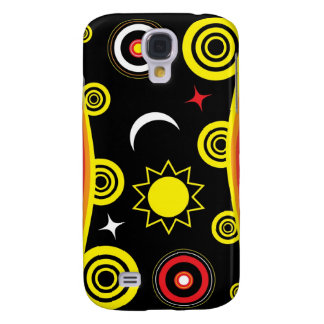 Naive funky pattern samsung galaxy s4 case