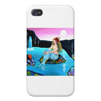 Naive Mermaid of the Lake iPhone 4/4S Cover
