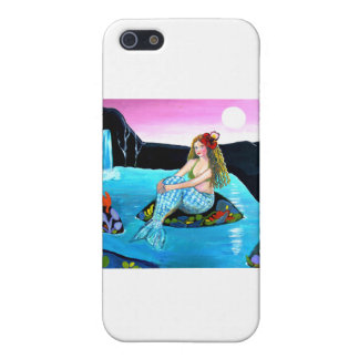 Naive Mermaid of the Lake iPhone 5 Cases