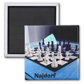 Najdorf Magnet