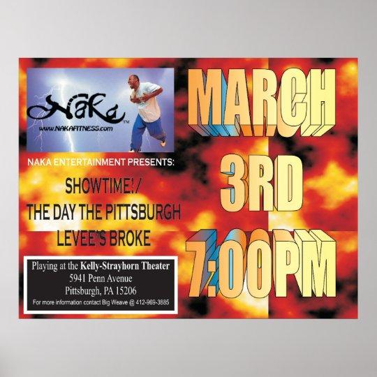 Naka showtime 2 promo poster