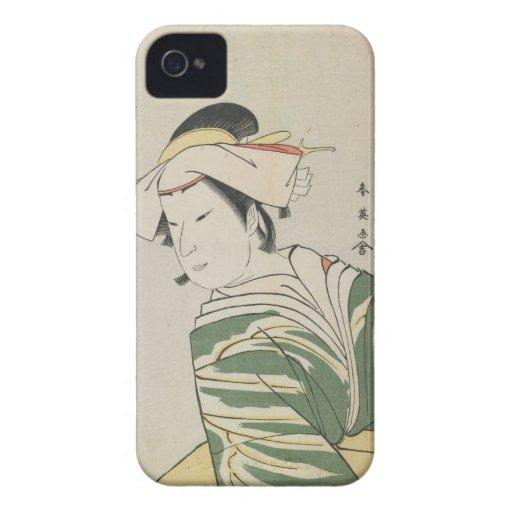 Nakamura Noshio II as Tonase, 1795 iPhone 4 Case-Mate Cases