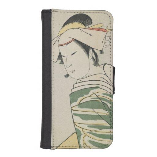 Nakamura Noshio II as Tonase, 1795 Phone Wallet Cases
