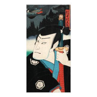 Nakamura Shikan IV in the role of Fuwa Kazuemon Customised Photo Card