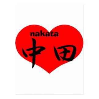 nakata postcard