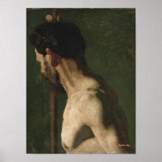 Naked academic Jean Marie Moyer Poster