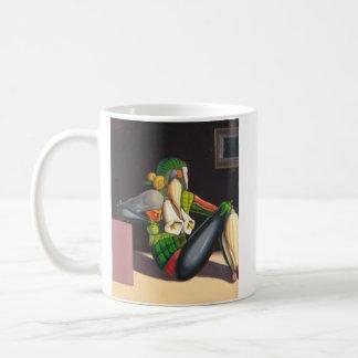 """""""Naked to the bucket """" Coffee Mug"""