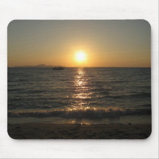 Naklua Beach Sunset ... Chonburi, Thailand Mouse Mat