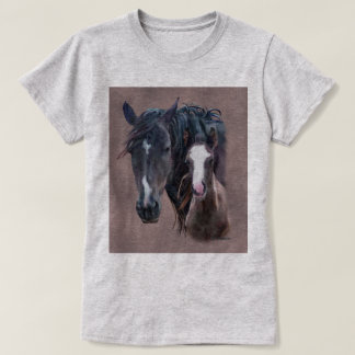 Nakota Mare and Foal T-Shirt
