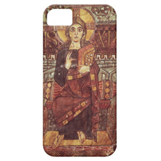 NAL 1203 fol.3 Christ in Majesty, from the Godesca iPhone 5 Covers
