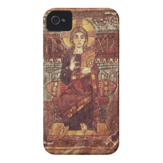 NAL 1203 fol.3 Christ in Majesty, from the Godesca iPhone 4 Case-Mate Cases