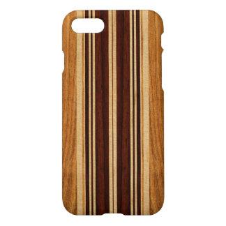 Nalu Lua Faux Koa Wood Surfboard iPhone 7 Case