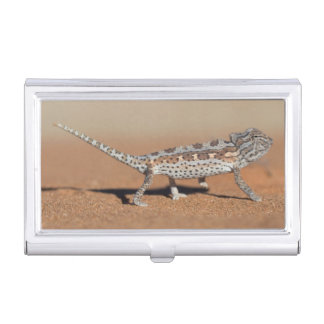 Namaqua Chameleon, Namib Desert, Namib-Naukluft Business Card Holder