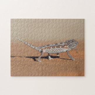 Namaqua Chameleon, Namib Desert, Namib-Naukluft Jigsaw Puzzle