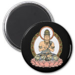 Namaskara Mudra Buddha Magnets