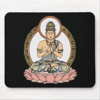 Namaskara Mudra Buddha Mouse Mat