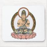 Namaskara Mudra Buddha Mouse Mats