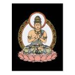 Namaskara Mudra Buddha Postcard