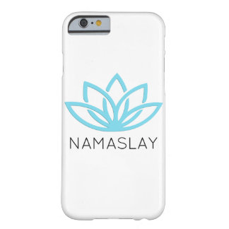 NAMASLAY Blue Simple Lotus Phone Case