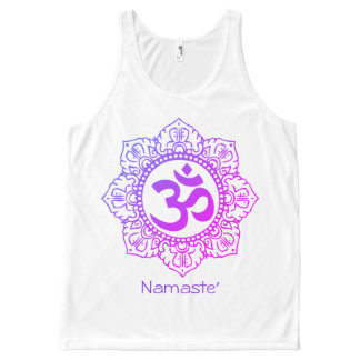 Namaste' All-Over Print Tank Top