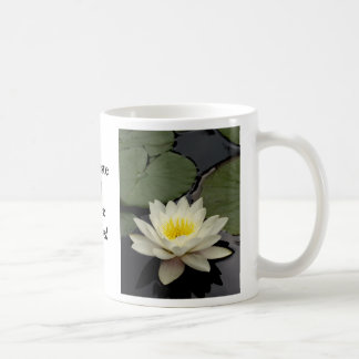 Namaste and Peace Always Lotus Mug