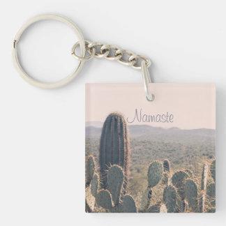 Namaste - Arizona Cacti   Acrylic Key Chain