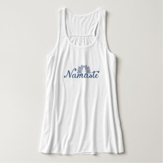 Namaste Bella+Canvas Flowy Racerback Tank Top
