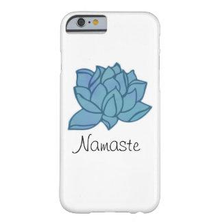 Namaste Blue Lotus Phone Case