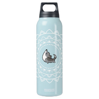 Namaste Blue Merle Corgi Large Hot+Cold Bottle