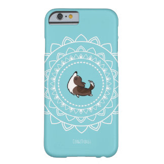 Namaste Brindle Corgi Phone Case