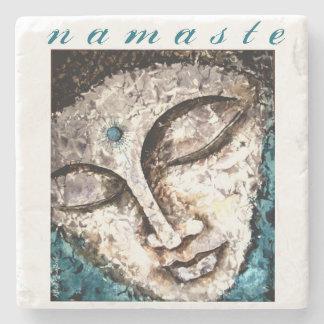 Namaste Buddha Art Stone Coaster