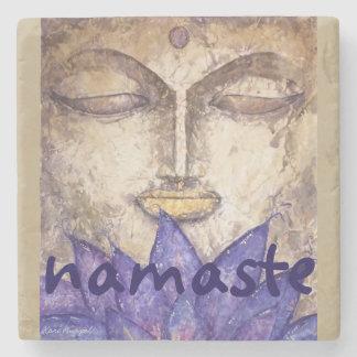 Namaste Buddha Stone Coaster