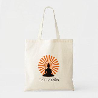 Namaste Buddha Yoga Tote