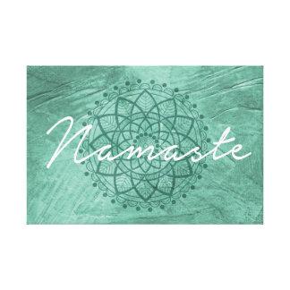 Namaste canvas wall decor gallery wrap canvas